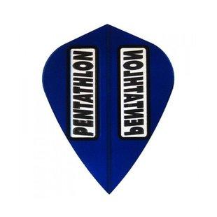 Pentathlon Transparant Kite Blue