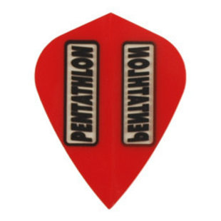 Pentathlon Transparant Kite Red