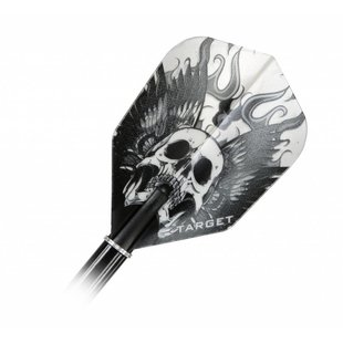 Target Vision Grey Skull With Wings
