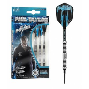 Phil Taylor Power 8ZERO 80% Soft Darts