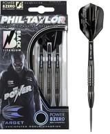 Phil Taylor Power 8ZERO Black Titanium 80% S2