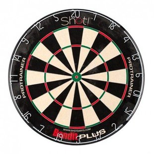 Shot! Bandit Plus Protrainer Dartboard