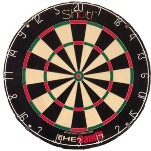 Shot! Bandit Original Dartboard