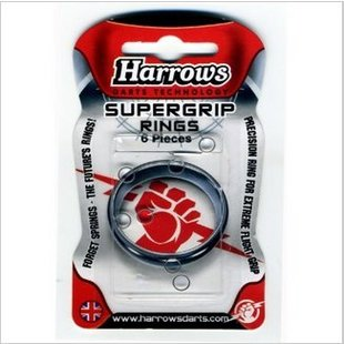Harrows Supergrip Rings 6 Stück