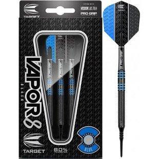 Target Vapor-8 Black Blue 80% Soft Darts