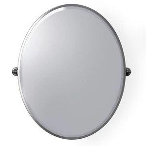 Pivoting Mirror Oval