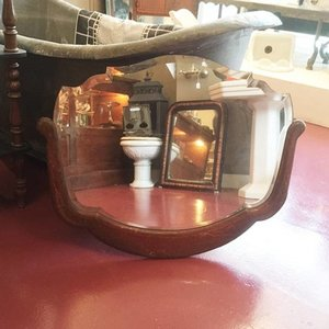 Antique Mirror Oblong