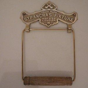 Paper Holder St.Pancras Brass