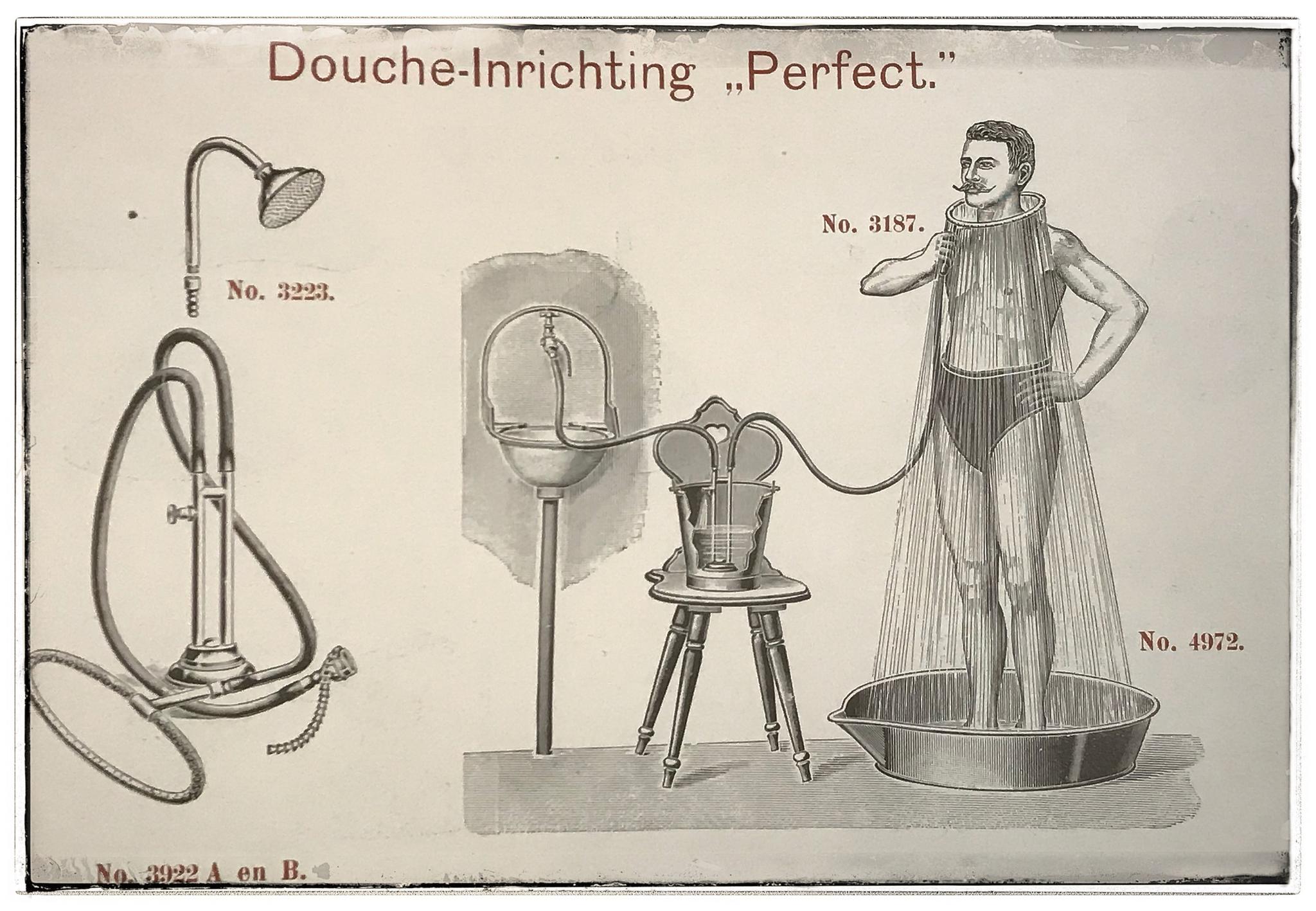 De geschiedenis van badkamer affaire deau