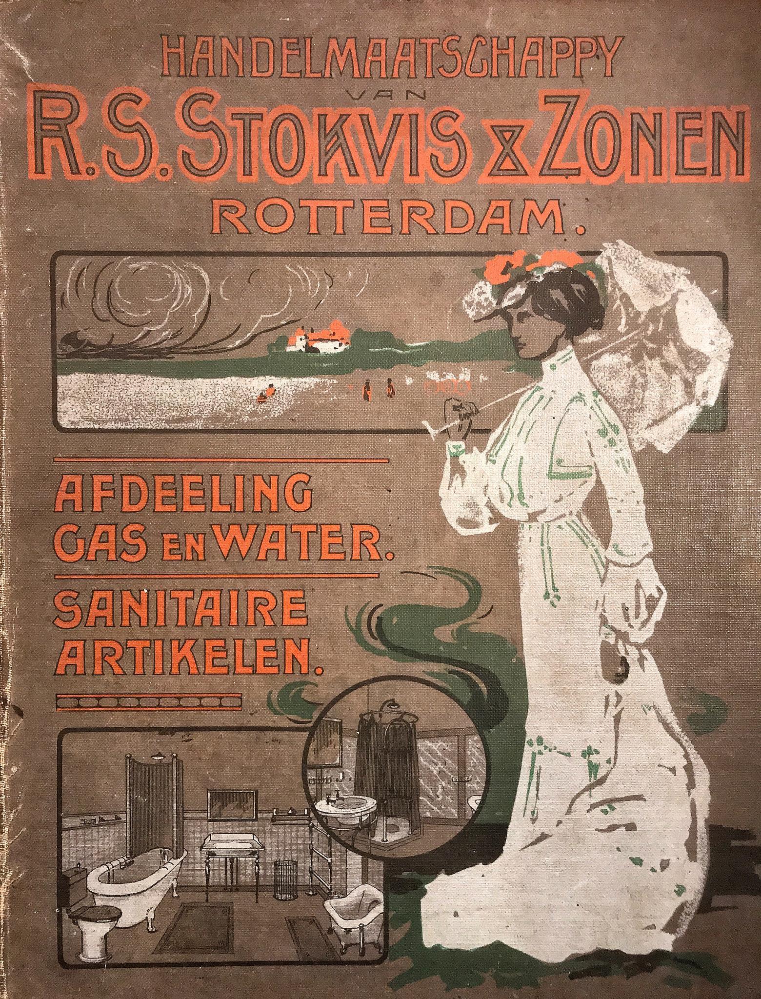 Catalogus van de firma Stokvis ongedateerd, begin 1900
