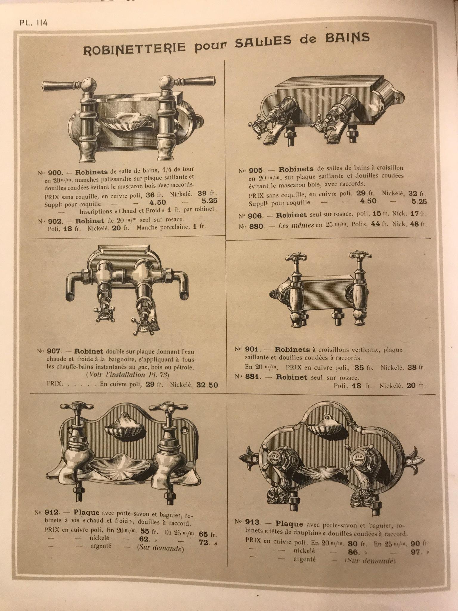 Badmengkranen omsteeks 1900