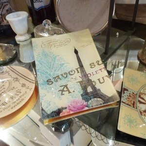 Soap Dish Decoupage Paris