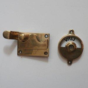 Toilet Door Lock Brass