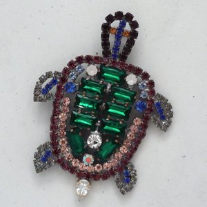 Strassbroche Schildpad