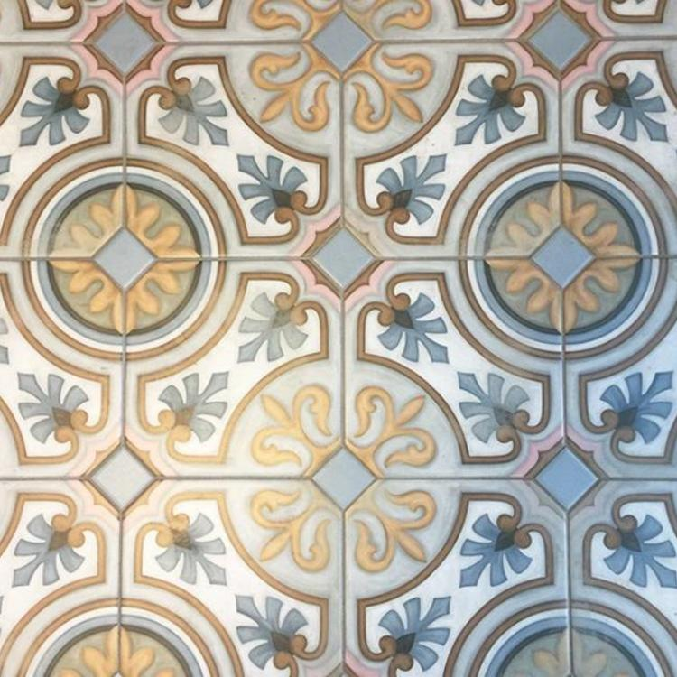 Classic Floor Tiles With A Nostalgic Pattern