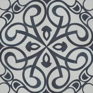 Floor Tile Jugendstil