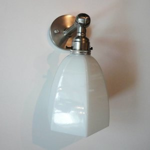 Lamp in Nickel Holder