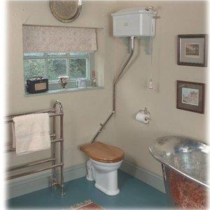 Corner Flush Pipe