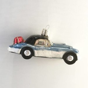 Christmas Decoration Blue Car