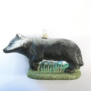Christmas Decoration Badger