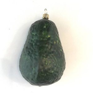 Christmas Decoration Avocado Whole