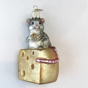 Christmas Decoration Hungry Mouse