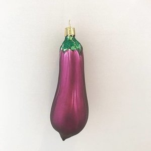 Christmas Decoration Large Eggplant