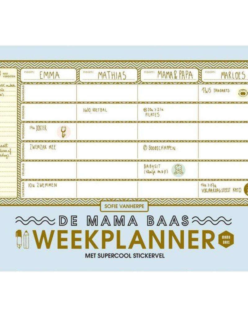 Lannoo Lannoo- Mama baas weekplanner