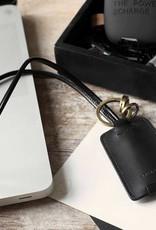 Kreafunk Kreafunk- black leather wire loop