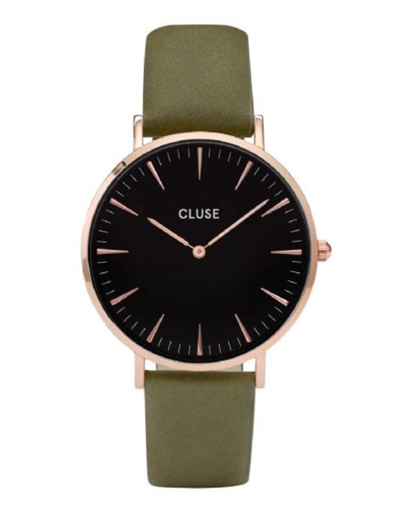Cluse Cluse - La Boheme rose gold black/olive green