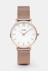 Cluse Cluse - Minuit Mesh Rose Gold/White