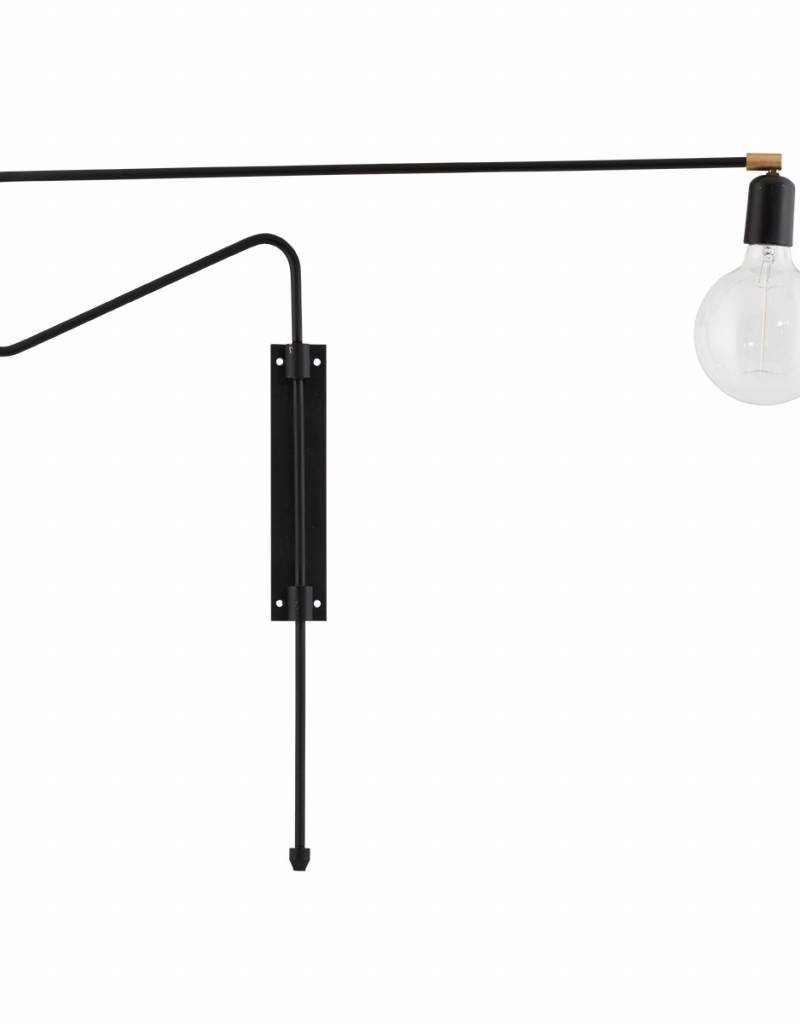 House Doctor House Doctor- Wall lamp Swing Black Large