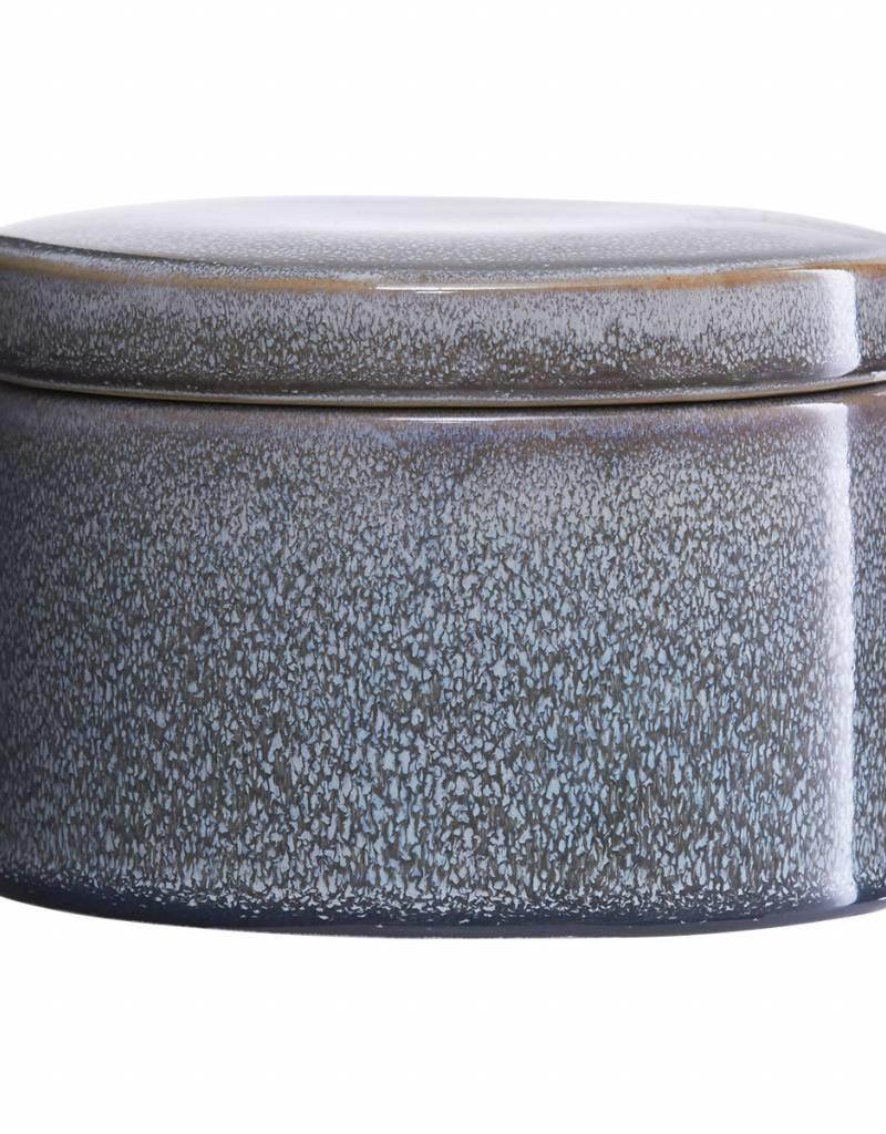 House Doctor House Doctor- Jar w lid, Croz, Grey
