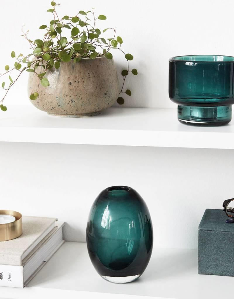 House Doctor House doctor - Tealight stand - Mute - Green/blue