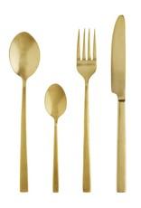 Madam Stoltz Madam Stoltz - Gold cutlery