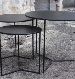 Sofa Dome Sofa Dome - salon of bijzettafel rond zwart