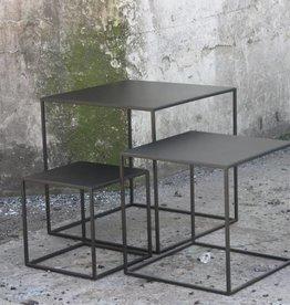Sofa Dome Sofa Dome salon of bijzettafel vierkant zwart