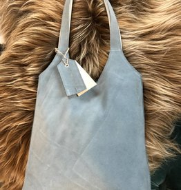 Beleef je verbeelding Handtas lichtblauw