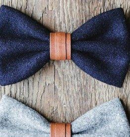 Gentlemen's hardware Bow tie Black