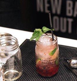 Gentlemen's hardware Muddler & glass jar cocktail set