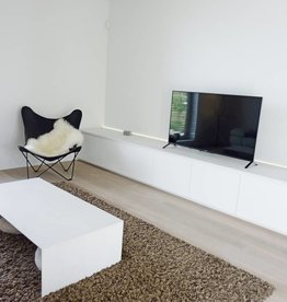 Thinkstyle tv-meubel wit afgelakt met mortex