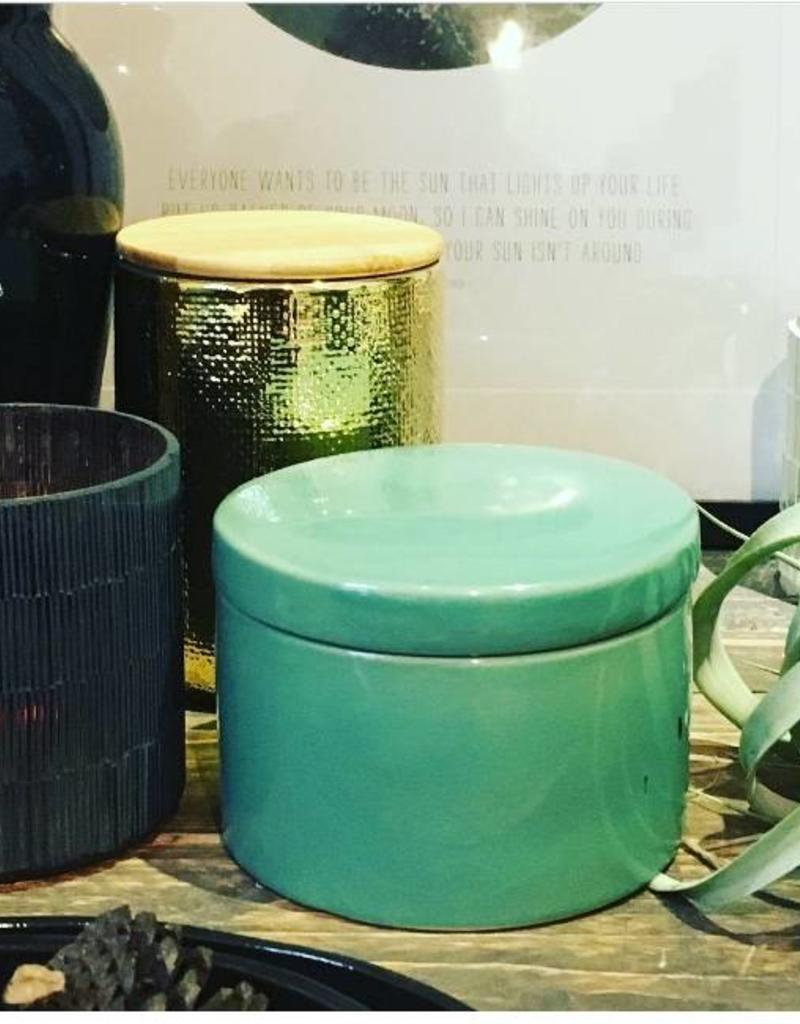 House Doctor House Doctor- Jar w lid green