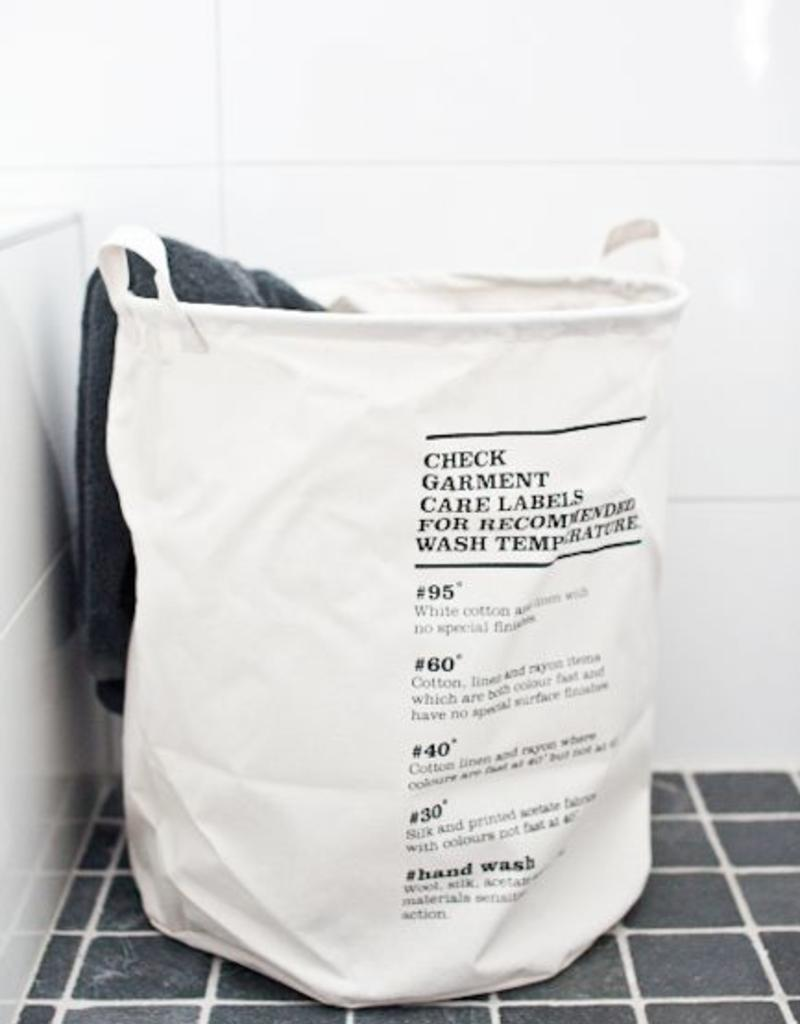 House Doctor House Doctor- Laundry bag, wash instructions