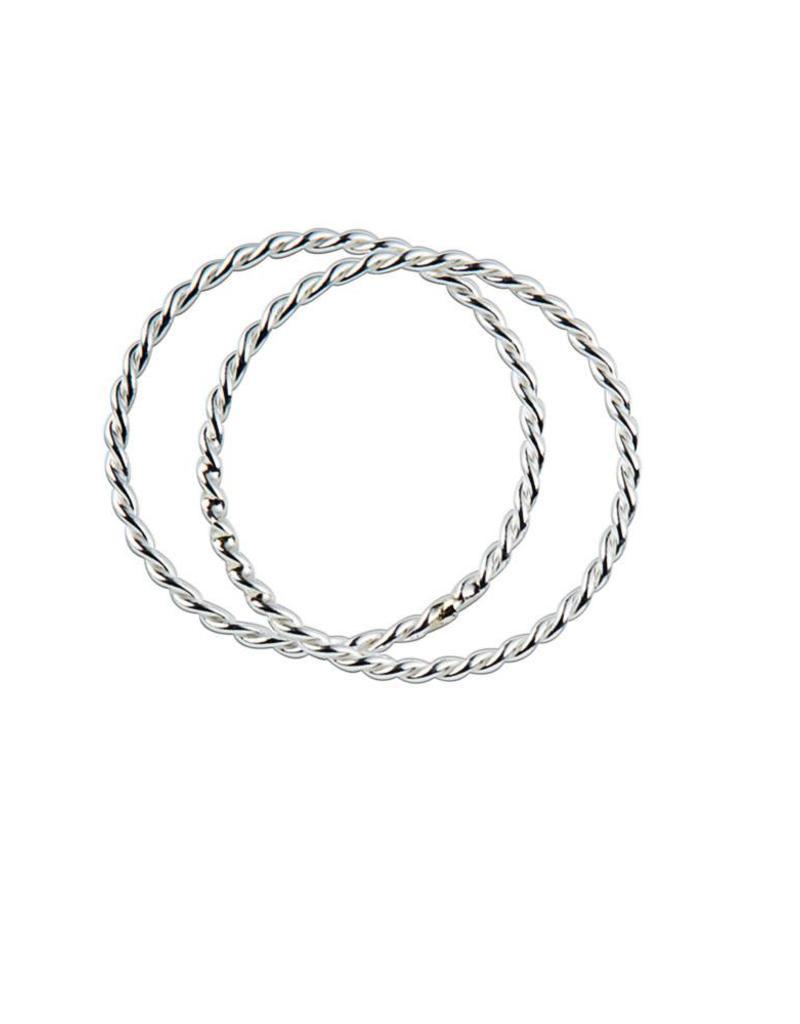 Juulry Juulry - Zilveren ring set van 2