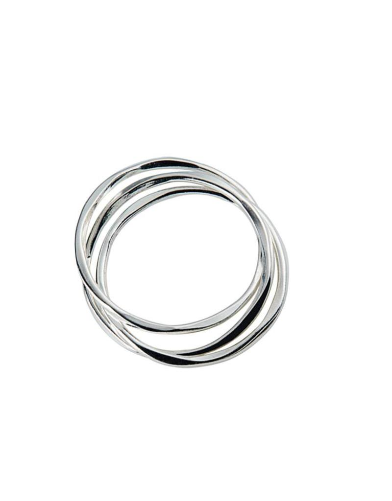Juulry Juulry - Zilveren ring set van 3