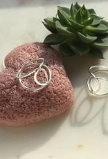 Juulry Juulry - Zilveren ring traan