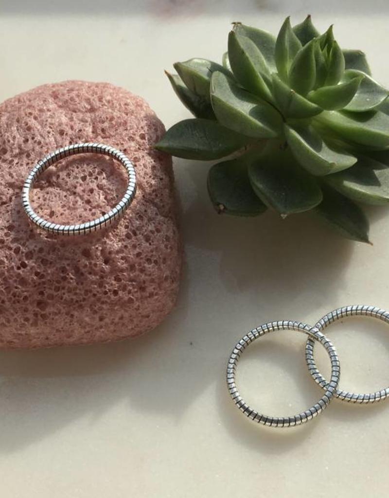 Juulry Juulry - Zilveren ring twist