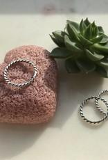 Juulry Juulry - Zilveren ring twist dik
