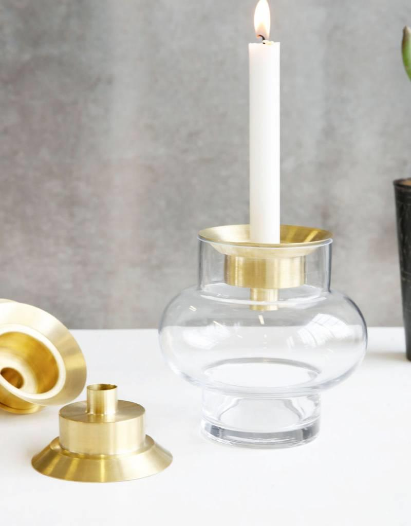 House Doctor House doctor - Candle stand - lid brass
