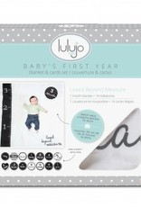 Lulujo Lulujo - swaddle & cards - loved beyond measure